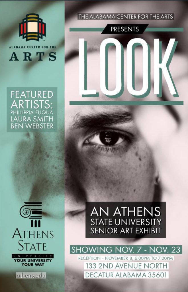 LOOK - Athens State University Senior Exhibit