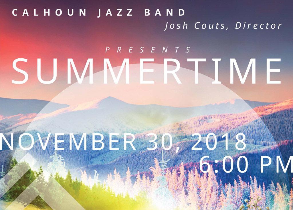 Calhoun Jazz Band presents Summertime