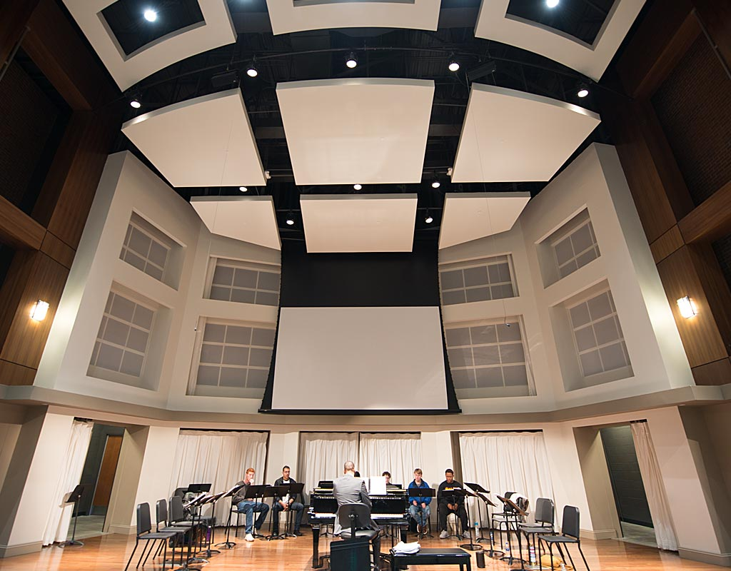 Alabama Center for the Arts recital hall