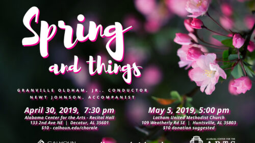 Calhoun Chorale presents Spring and Things