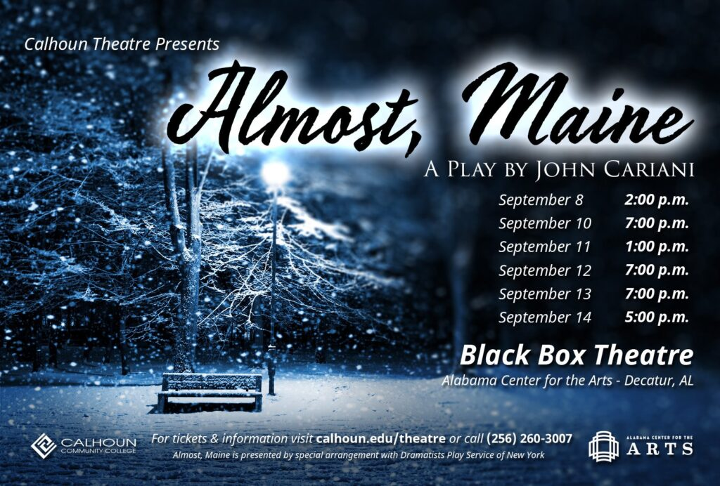 Almost, Maine - Alabama Center for the Arts