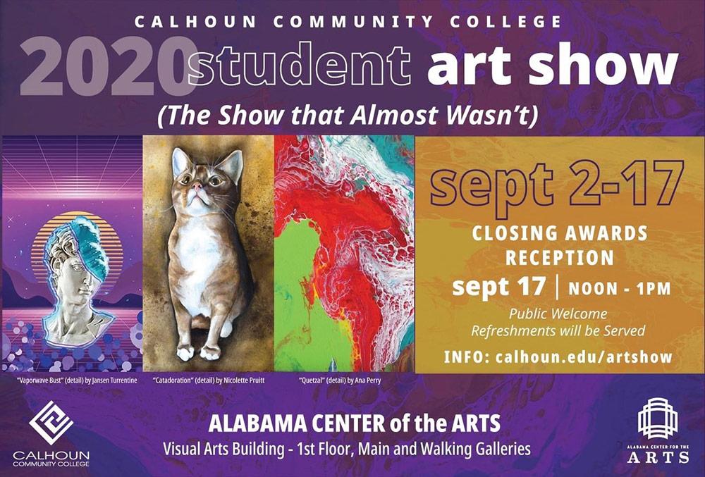 Calhoun 2020 Student Show