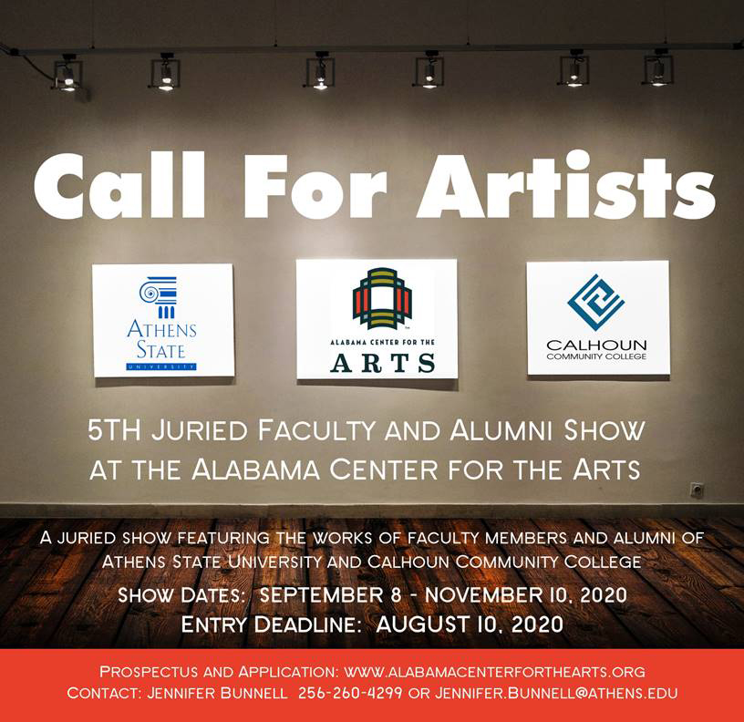 Call for Artists - Juried Faculty and Alumni Show
