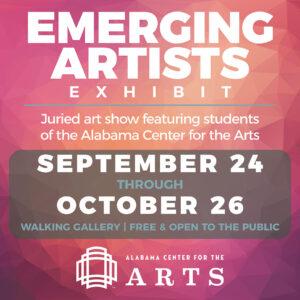 2020 Emerging Artists Exhibit Poster